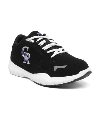 Black Colorado Rockies Sneaker