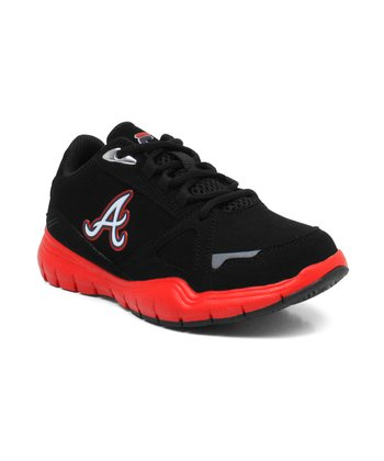 Black Atlanta Braves Sneaker