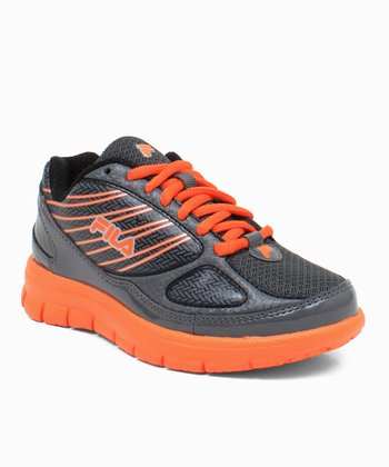 Black & Orange Rocket Fuel Running Sneaker
