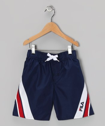 Medieval Blue Boardshorts - Boys