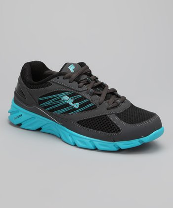 Black & Bright Blue Intrinsic Running Shoe