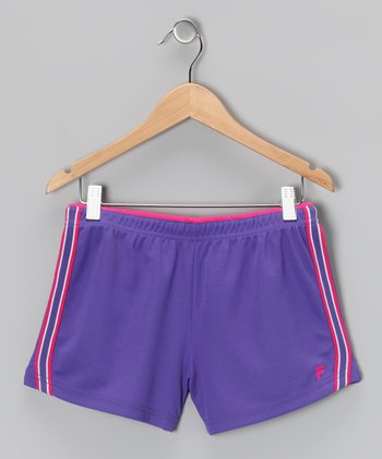 Simply Purple Mesh Shorts