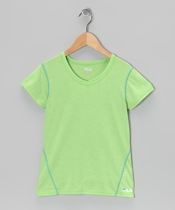Green Gecko Heather Tee
