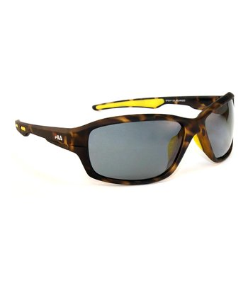 Brown & Smoke Cameo Polarized Sunglasses - Men