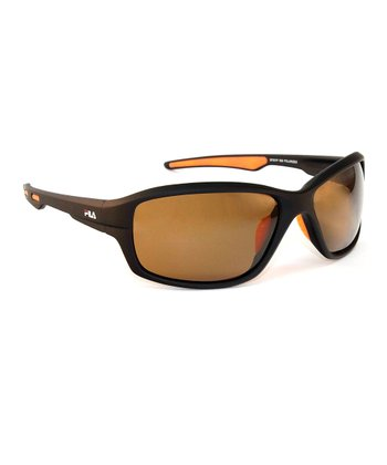 Brown Polarized Sunglasses - Men