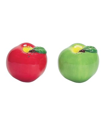 Apple Pickin' Salt & Pepper Shakers
