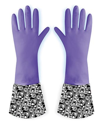 Plum Retro Glove - Set of Two