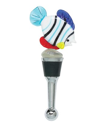 Summer Fish Bottle Stopper