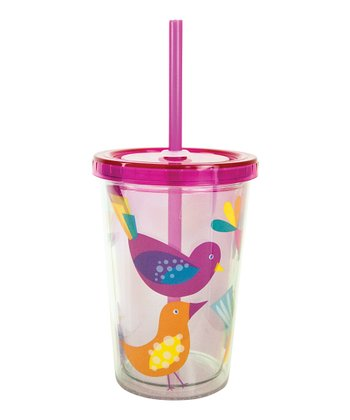 Feathered Friend 10-Oz. Insulated Lidded Tumbler