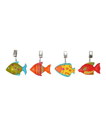 Boston Warehouse Go Fish Tablecloth Weight Set