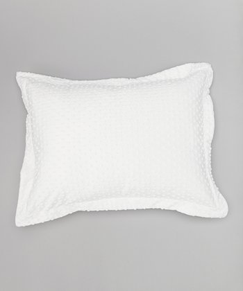 White Standard Pillow Sham