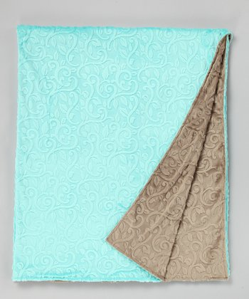 Marina & Café Vine Damask Throw
