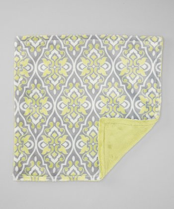 Limon Valencia Damask Security Blankee