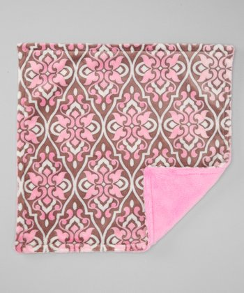 Rosa Valencia Damask Security Blankee