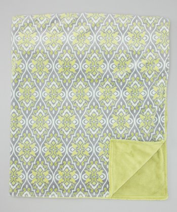 Limon Valencia	Damask Toddler Blanket