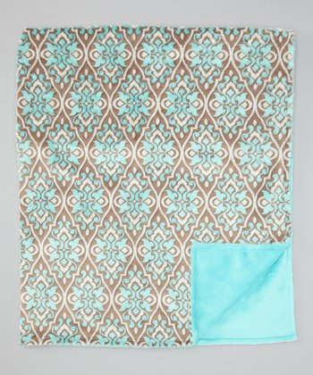Marina Valencia Damask Toddler Blanket