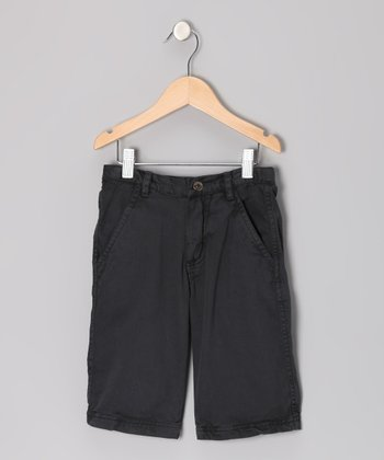 Sea Blue Cargo Shorts - Infant & Toddler