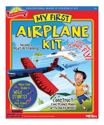 Scientific Explorer My First Airplane Kit