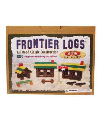 Ideal Frontier Logs 220-Piece Set