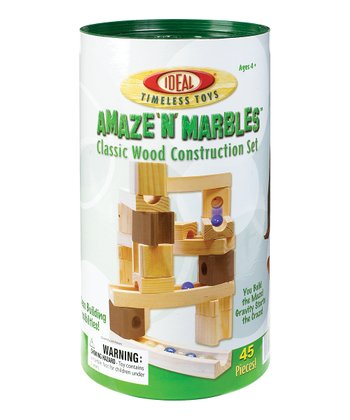 Ideal Amaze 'n' Marbles Block Set