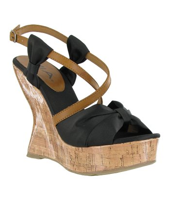 Black Isabella Wedge