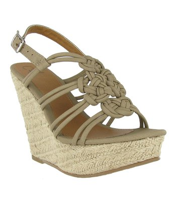 Stone Loveknot Wedge
