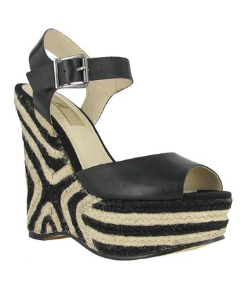 Black Gianna Wedge
