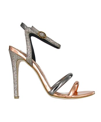 Rose Gold Multi Jai Stiletto Sandal