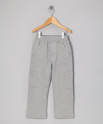 Heather Gray Outdoor Pants - Toddler & Boys