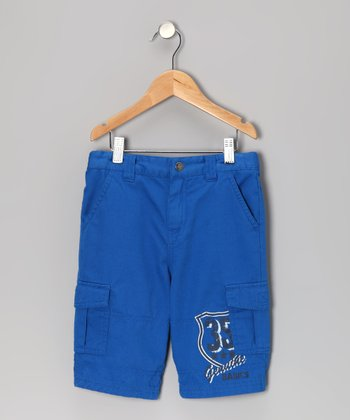 Cobalt Adventure Cargo Shorts - Toddler & Boys