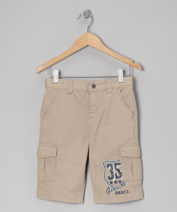 Light Stone Adventure Cargo Shorts - Toddler & Boys