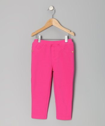 Pony Pink Color Pop Capri Pants - Toddler & Girls