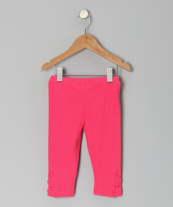 Melon Twist Bowtastic Capri Pants - Toddler & Girls