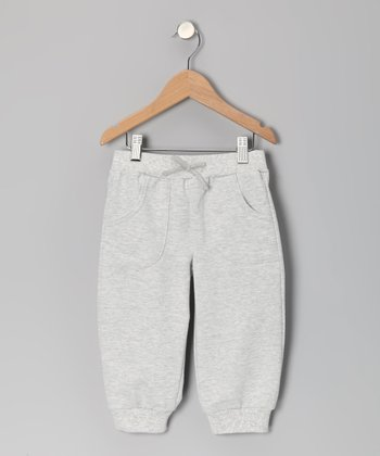 Heather Gray Capri Sweatpants - Toddler & Girls