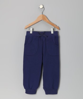 Admiral Navy Capri Sweatpants - Toddler & Girls