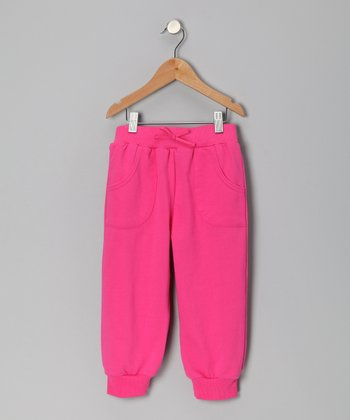 Pony Pink Capri Sweatpants - Toddler & Girls