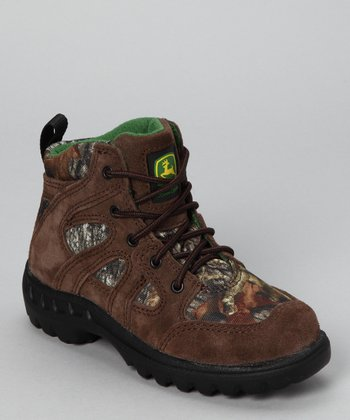 Gaucho & Tan Camp Boot - Kids