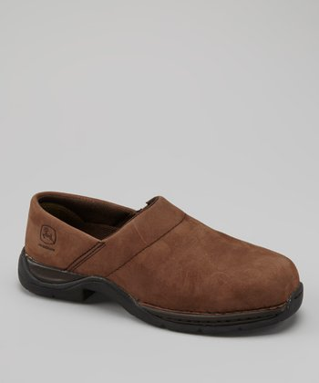 Brown Steel-Toe Clog - Women
