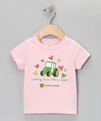 Pink Hearts Tee - Toddler