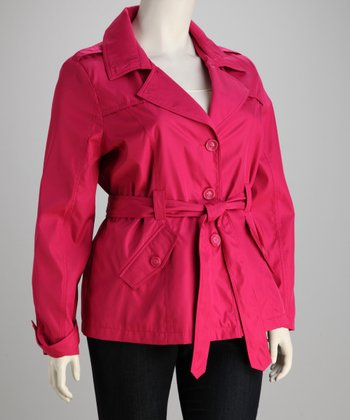 Hot Pink Trench - Plus