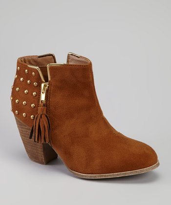 Brown Mayday Fringe Boot