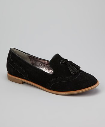 Black Snazzy Tassel Loafer