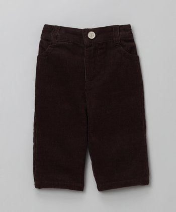 Brown Corduroy Pants - Infant, Toddler & Kids