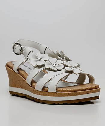 White Flower Jemma Sandal