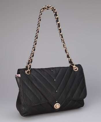 Black Leah Shoulder Bag