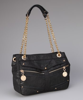 Black Allison Shoulder Bag