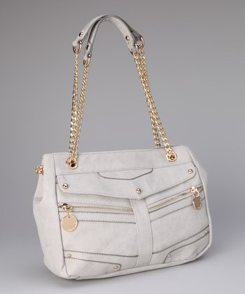 Gray Allison Shoulder Bag