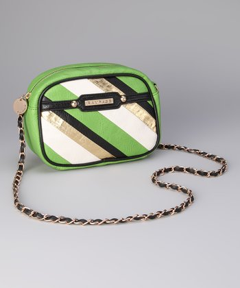 Green Carly Crossbody Bag