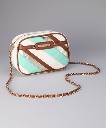Teal Carly Crossbody Bag