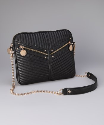 Black Jasmine Crossbody Bag